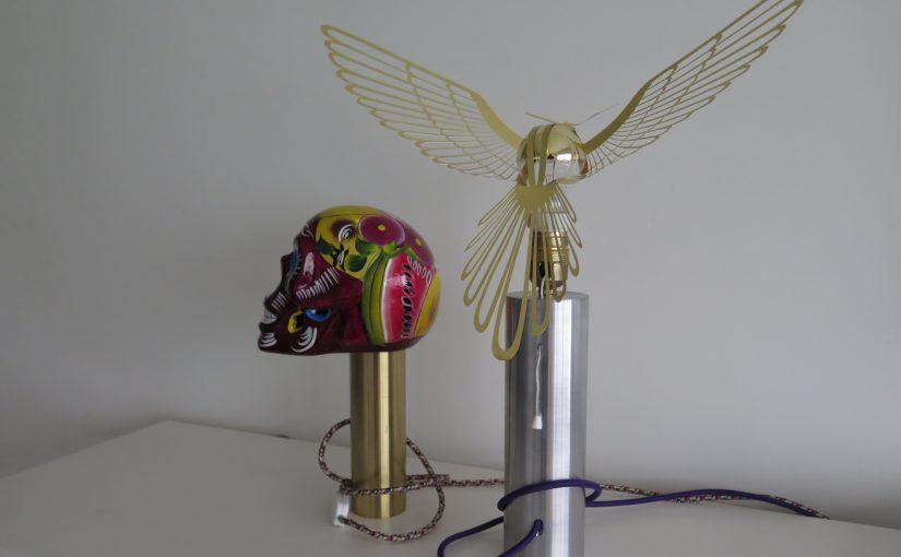 Assemblage Skull-Bird